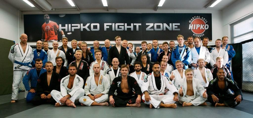 Lucio Linhareksen Brazilian jiujitsu-seminaari Metsälän salilla 22.6-27.6.2015