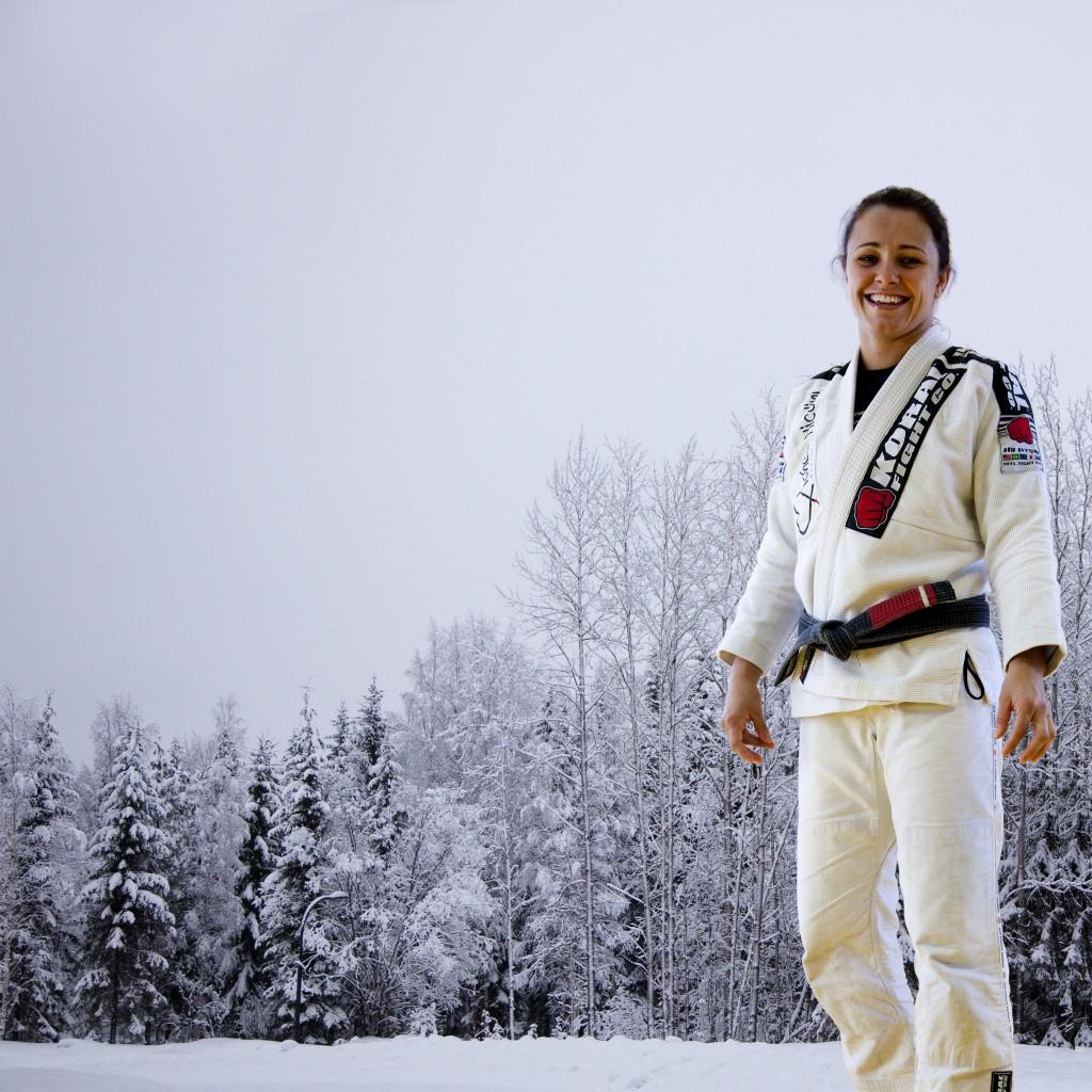 BJJ WORLD CHAMPION MICHELLE NICOLINI TRAINING SESSION 7.3.2014