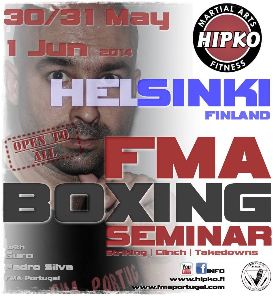 FMA-Boxing seminaari 30.5.-1.6