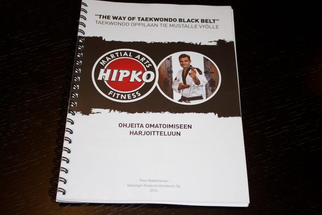 Taekwondon mustan vyön valmennuskurssi 14.-15.2