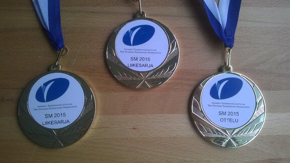 Jeppe Aukio - 3 x taekwondon SM kultaa 2015!