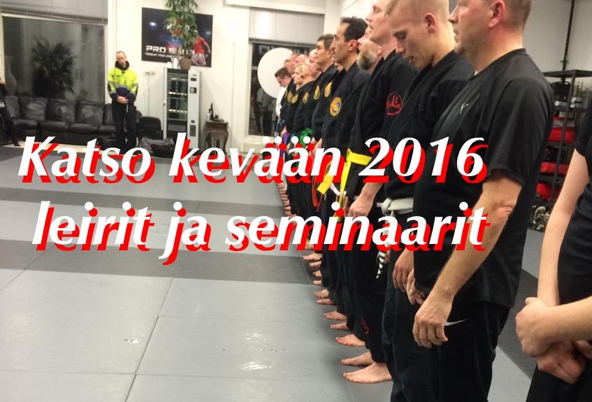 Tutustu kevään 2016 seminaari tarjontaan