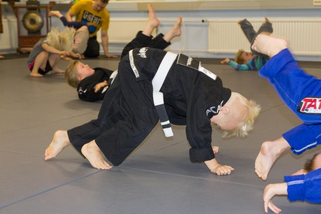 Hipko on myös pienten lasten ja perheiden harjoituspaikka