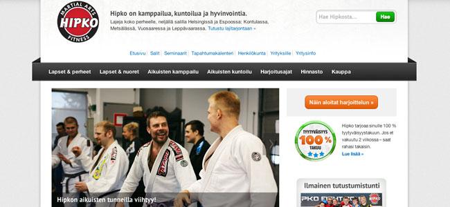 www.hipko.fi uudistui