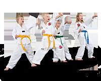 Lasten taekwondo