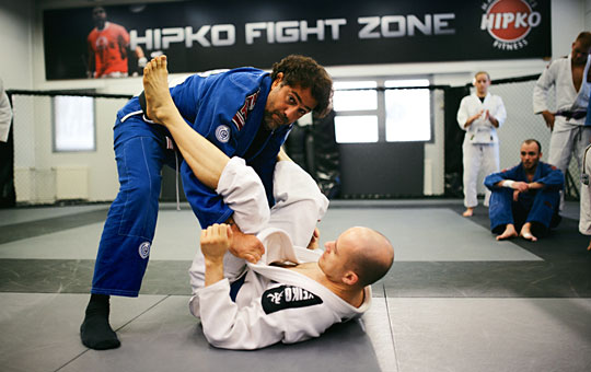Brasilian jiu-jitsu - BJJ