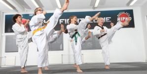Taapero- ja Tiikeri taekwondon natsakokeet LA 2.12.