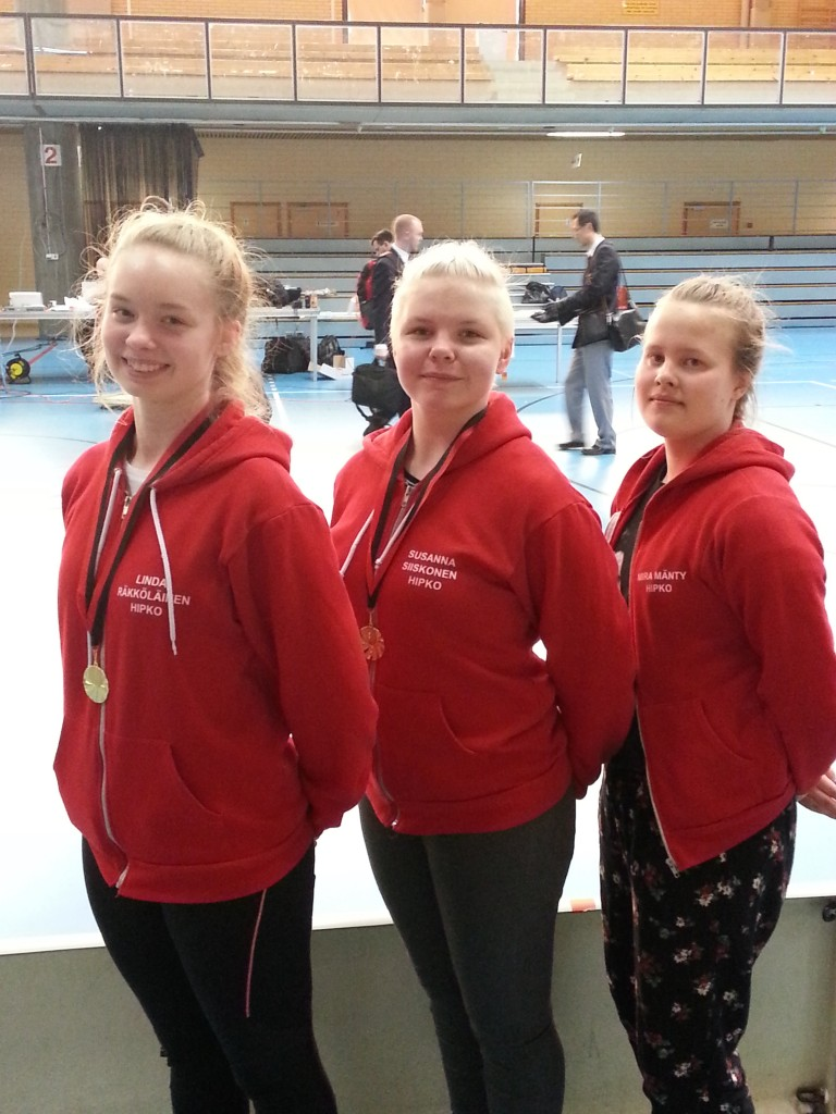 Hipkon poomse-joukkueelle menestystä Porin Taekwondo kisoista!
