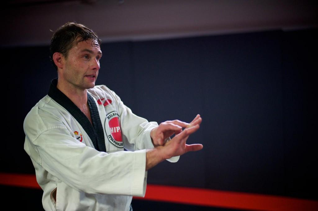 Taekwondon vyökoevalmennus valkoiset-ruskeat vyöt 19.4