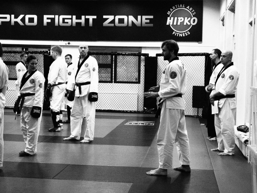 Mooye Taekwondon siniset-ruskeat vyöt valmennus 27.4