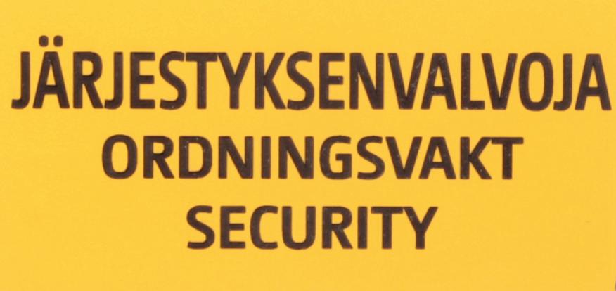 Järjestyksenvalvojan peruskurssi (32 oppituntia) 17.-18.9.2016