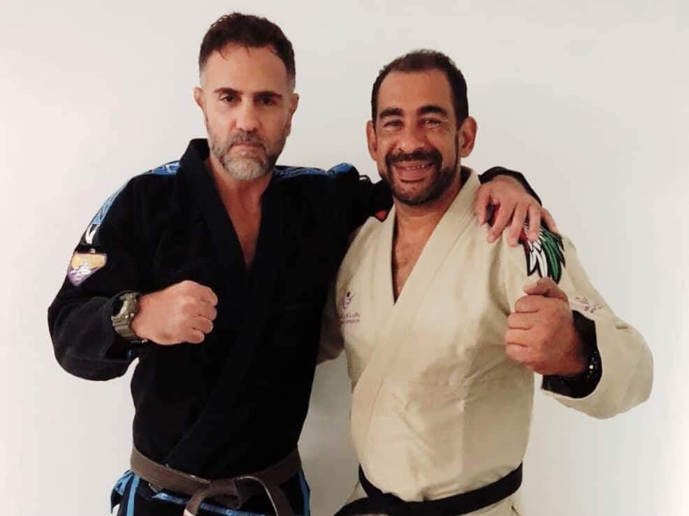 BJJ Masters seminar - Lucio Linhares ja Carlos (Big) Nelson la 28.7