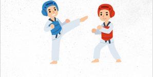 Taapero- ja Tiikeri Taekwondon natsakokeet lauantaina 4.-6.3.