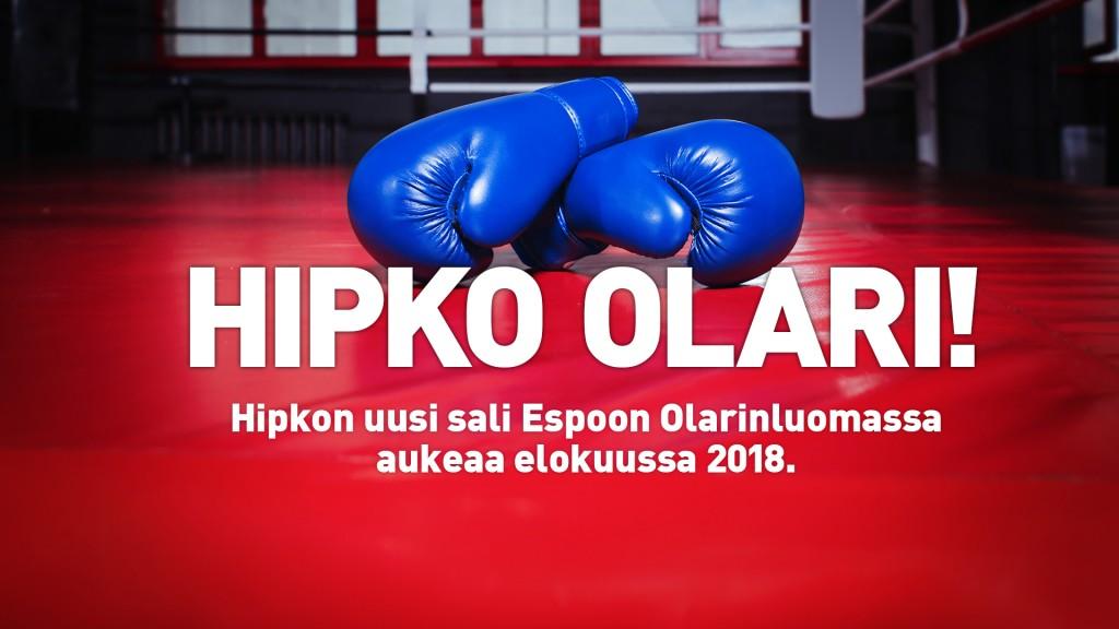 UUTTA - Hipko kasvaa elokuussa 2018!