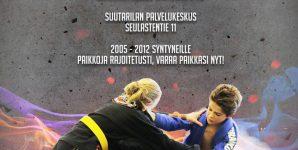 Tervetuloa Kids Primates with Hipko BJJ-turnaukseen Helsingin Suutarilaan 20.10.2018 lauantaina