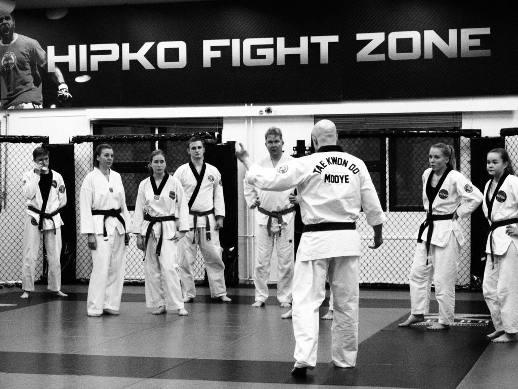 Mooye Taekwondon mustien vöiden leiri 23.11
