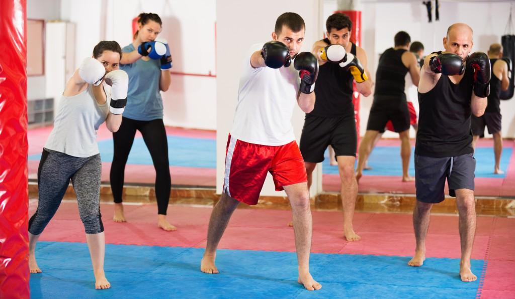 Tekniikka-Kickboxing Kontulan, Metsälän, Leppävaaran ja Olarin salilla