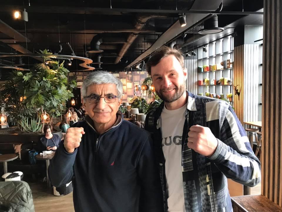 Tervetuloa Iraj Shabanin nyrkkeilyn näyttötunnille 12.3!